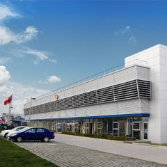 Front view of the Miba Precision Components China Location