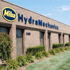 Front View of the Miba HydraMechanica Location