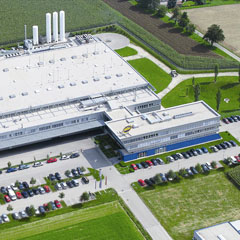 Top view of the Miba Frictec Location