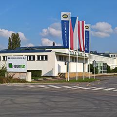 Front View of the Fibertec Steti Location