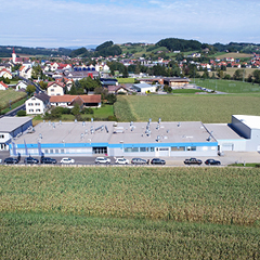 Top view of the EBG Austria Location