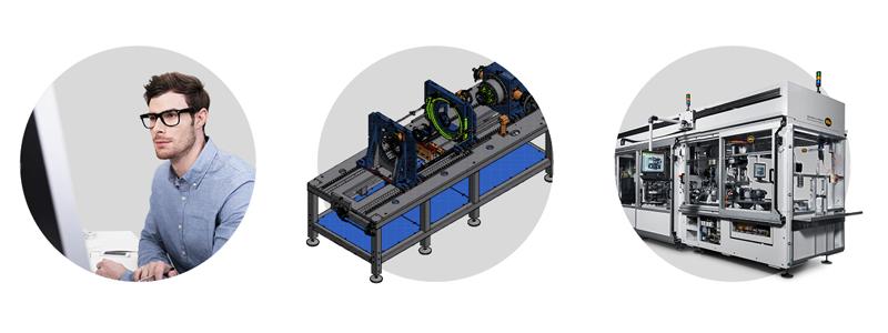 Produktionsanlagen für Elektromobilität