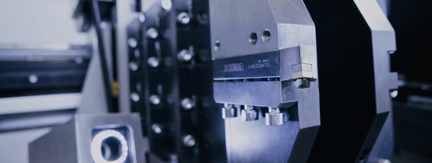 Image shows turbine housing machining with transportable CNC boring bar