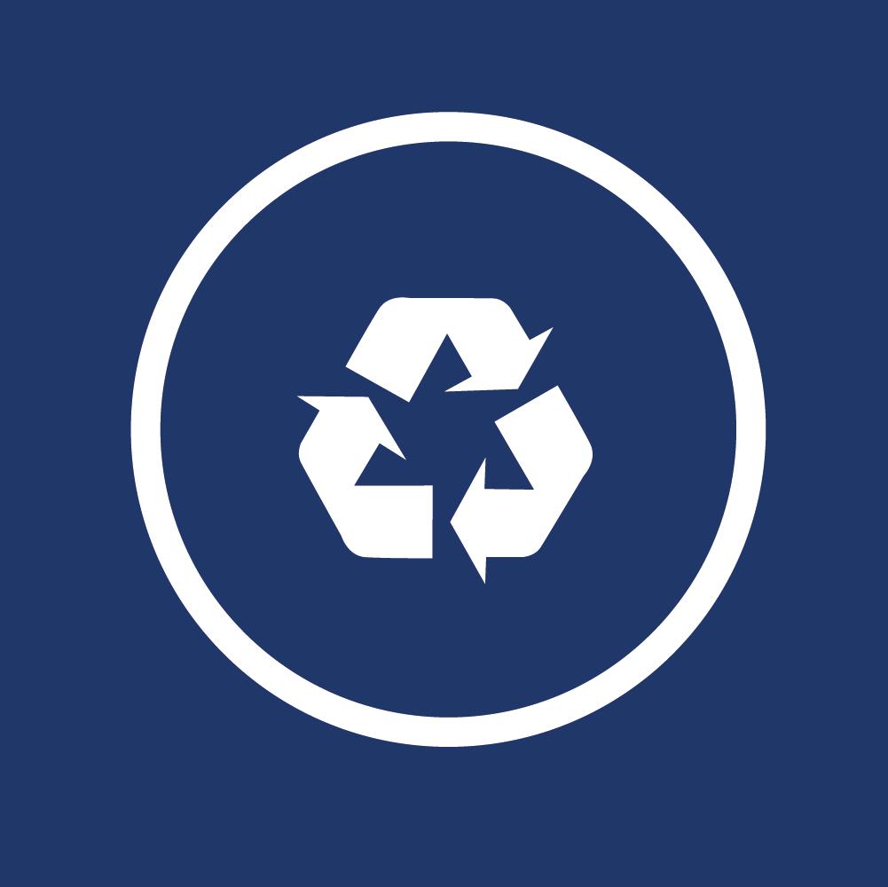 Leichter Austausch & Recycling möglich