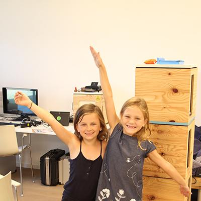 78 Kinder beim Ferienprogramm der Miba
