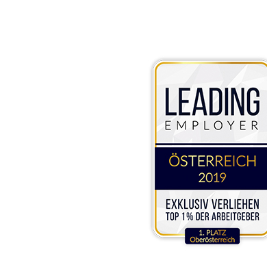 Miba receives <br/>award as <br/>LEADING <br/>EMPLOYER 2019