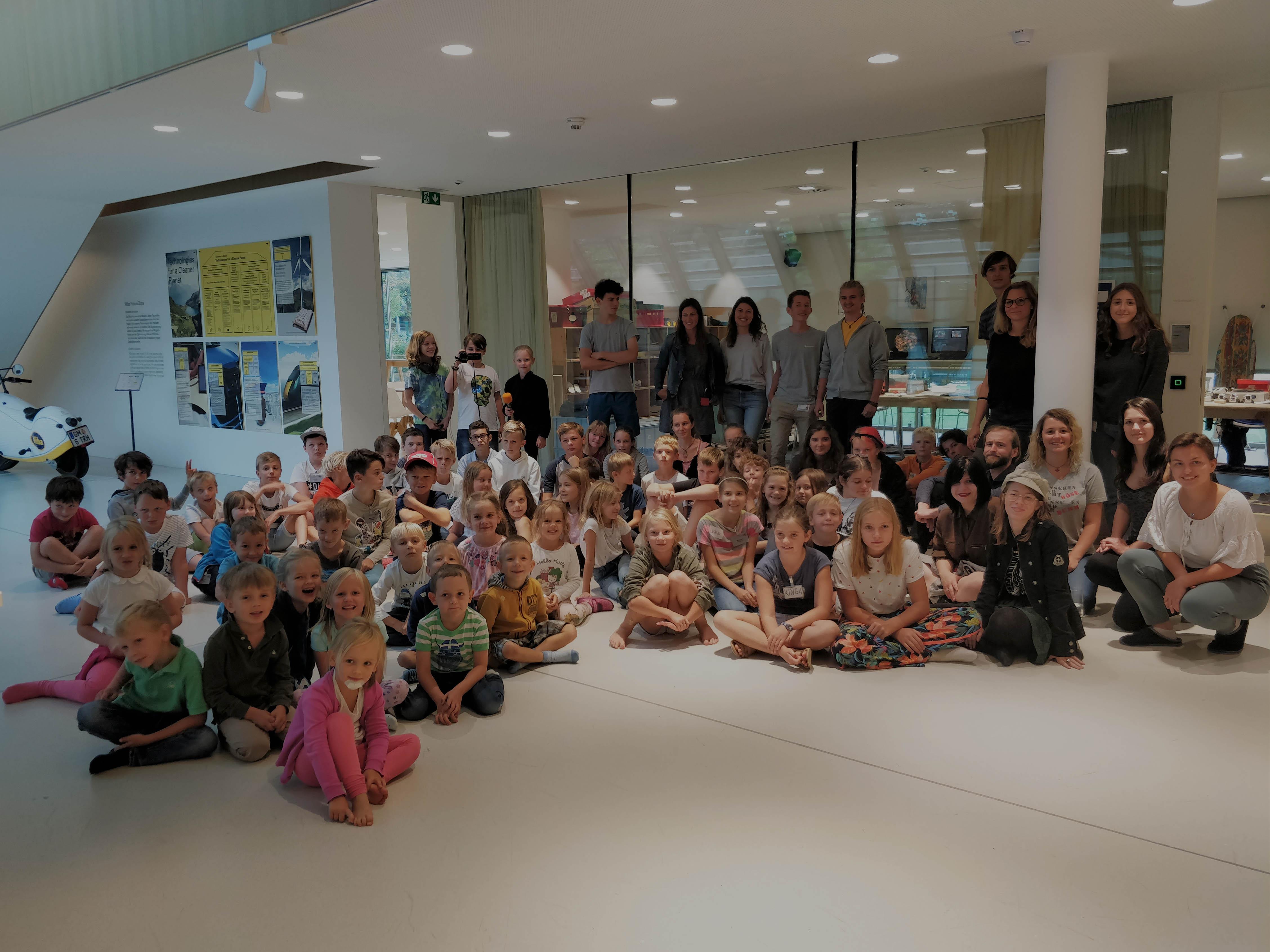 Miba Ferienbetreuung: 85 Kinder nahmen teil