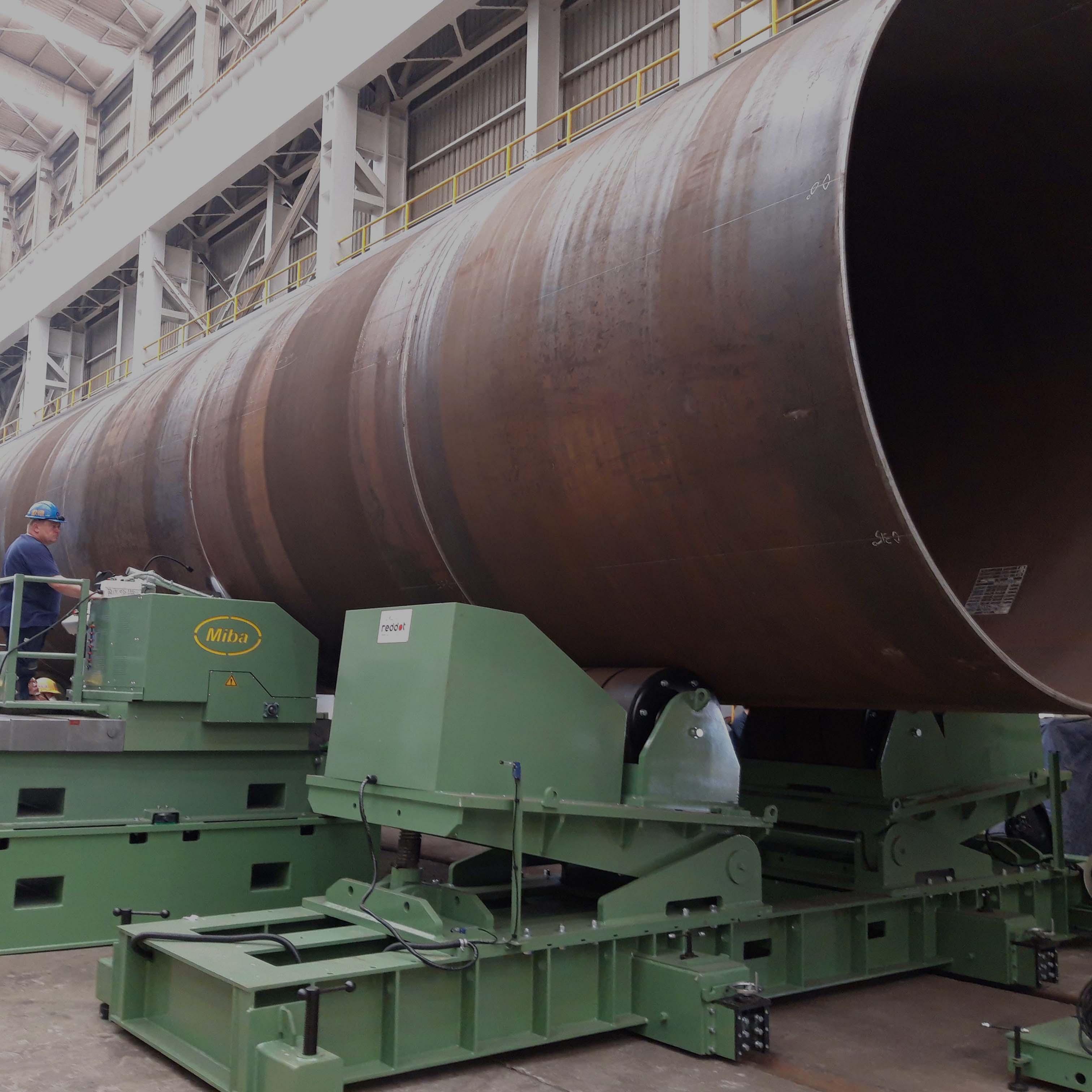 Miba liefert Maschinen für den Bau für Offshore-Windkraftanlagen